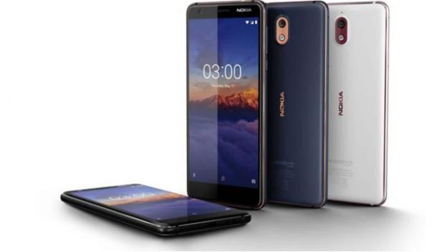 Nokia 3.1 gets Android 10 update in India