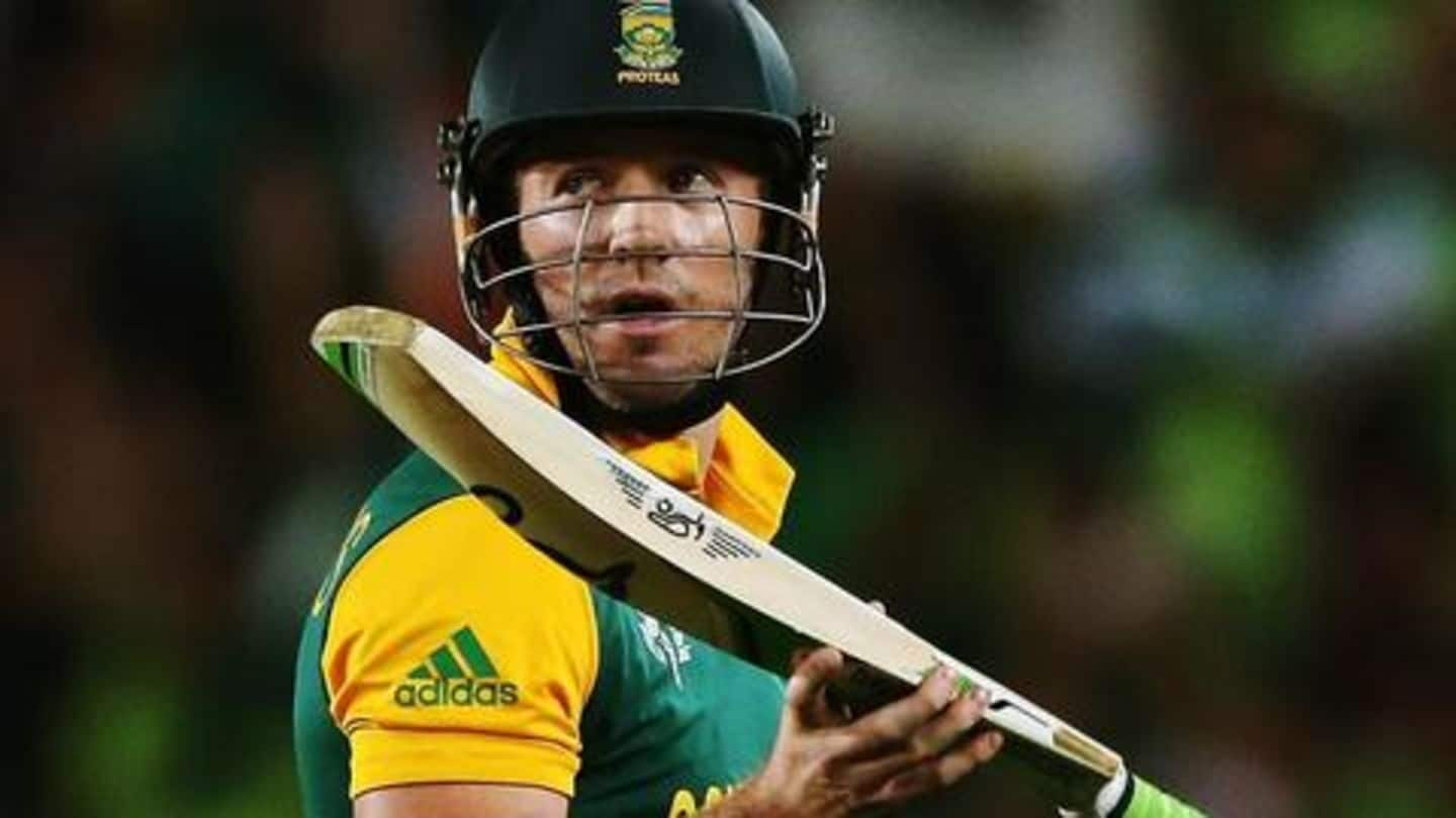 Is AB de Villiers looking to play ODIs again?