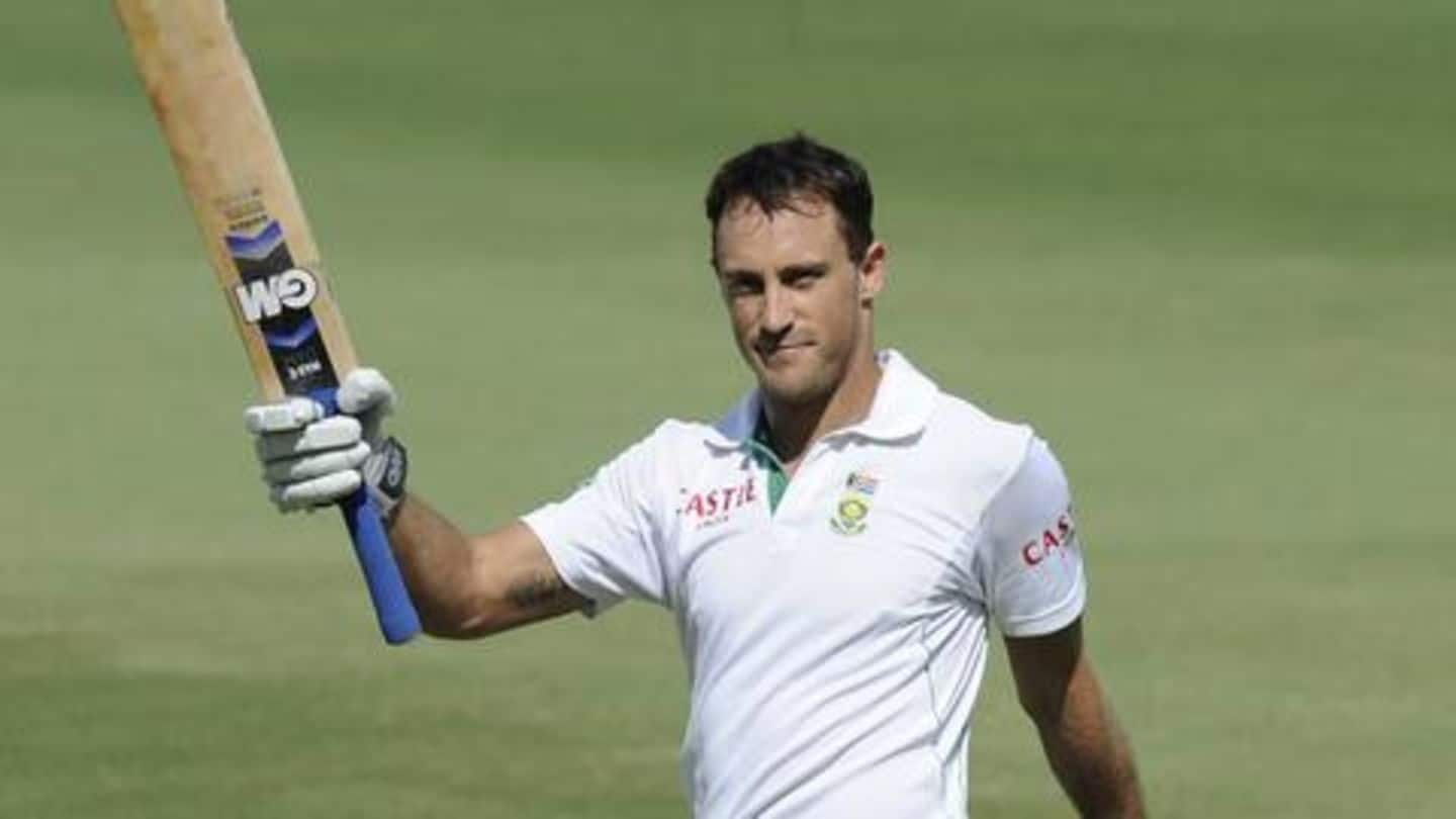 Faf du Plessis to miss flight to India: Here's why