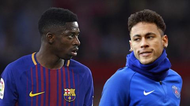 Ousmane Dembele's agent rubbishes rumors of Neymar swap at Barcelona