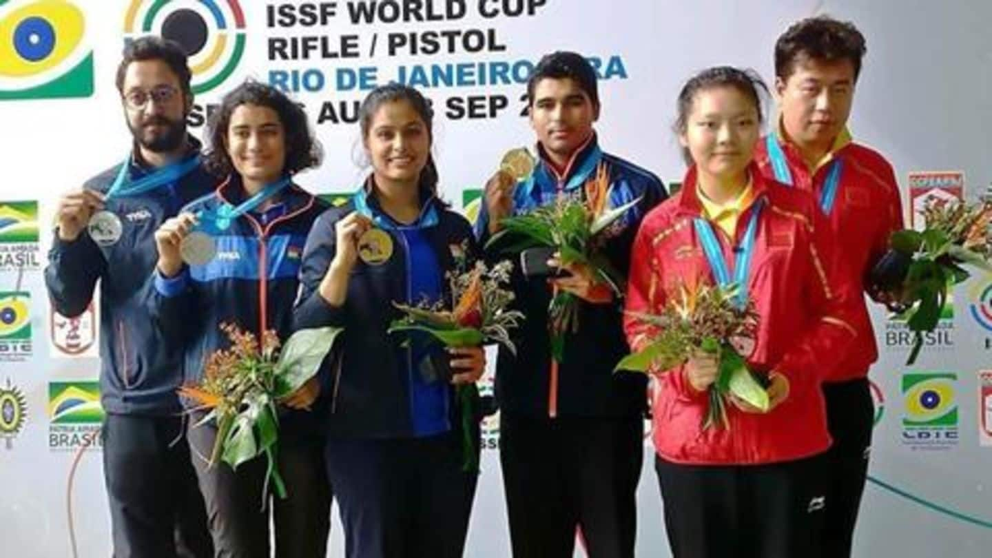 ISSF World Cup: India finish with 16 gold medals