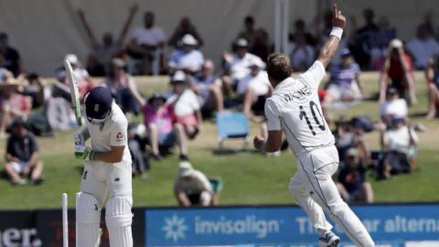 Records broken during New Zealand's 1st Test win over England