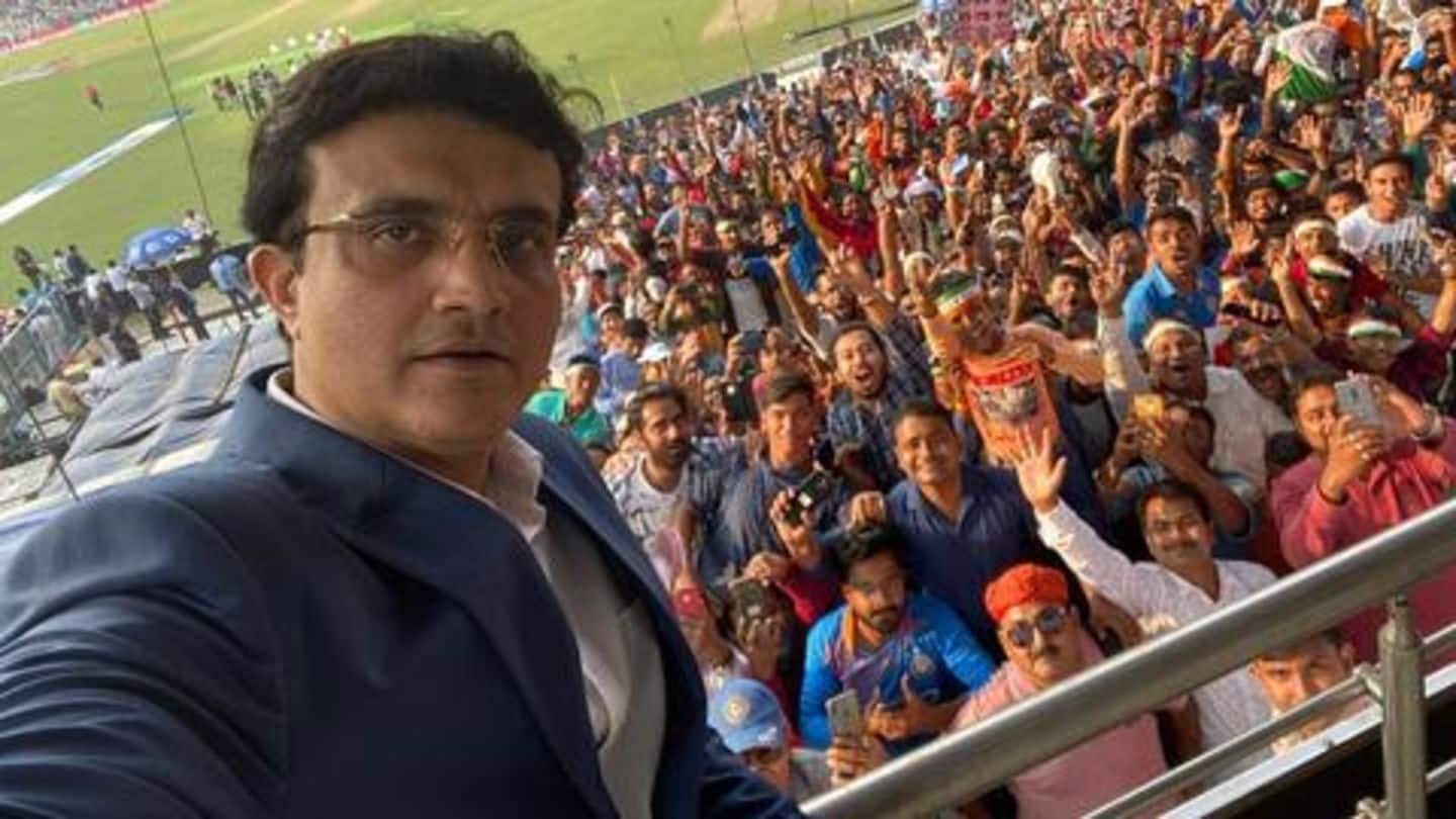 Day-Night Test felt like World Cup final: Sourav Ganguly