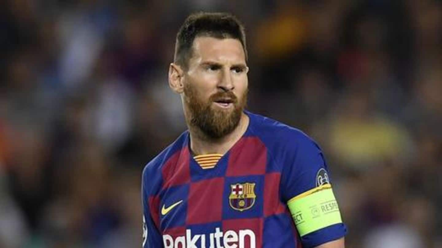 Here's what Lionel Messi said on his possible Barcelona exit