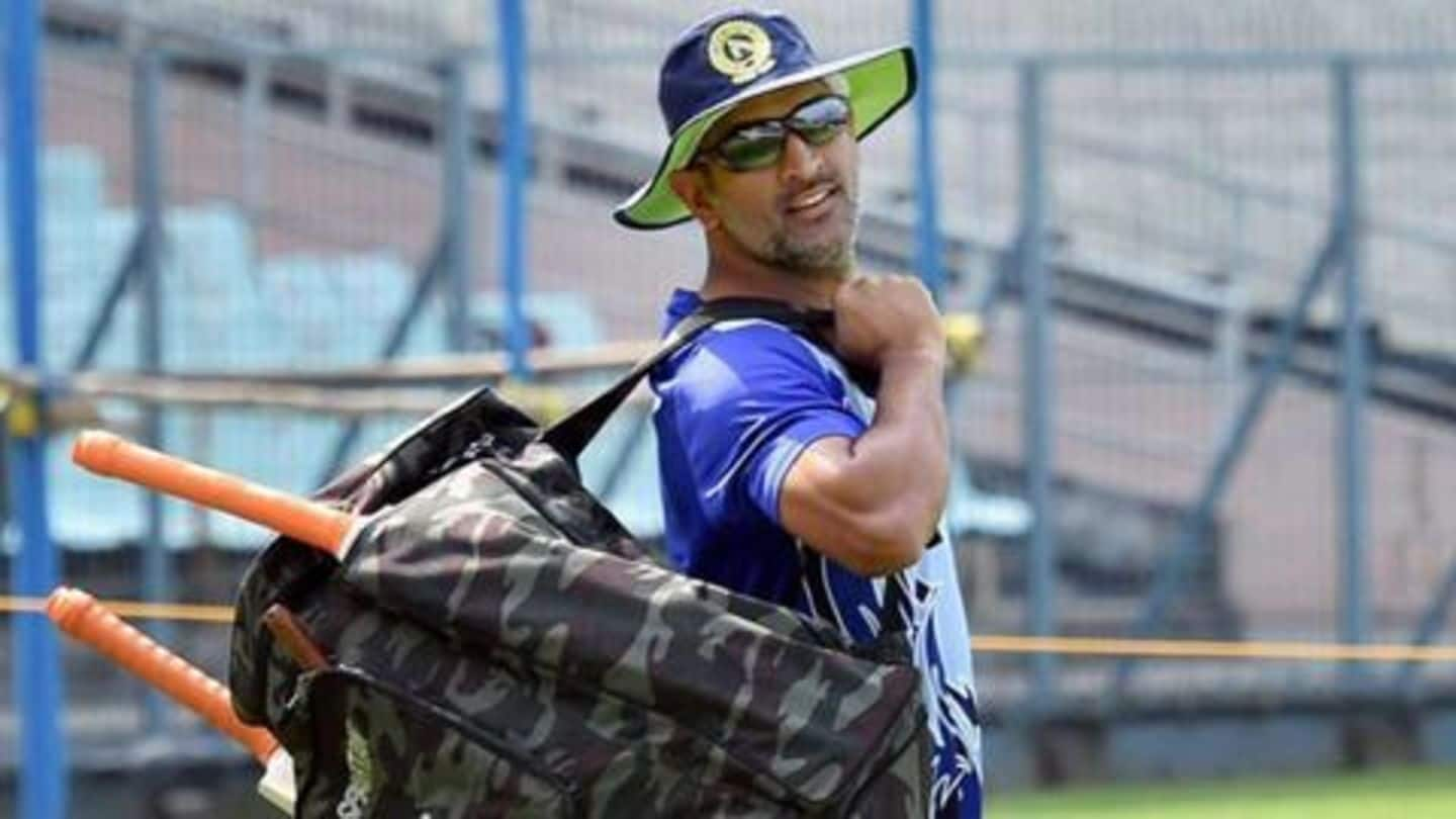 MS Dhoni resumes training with Jharkhand squad: Details here