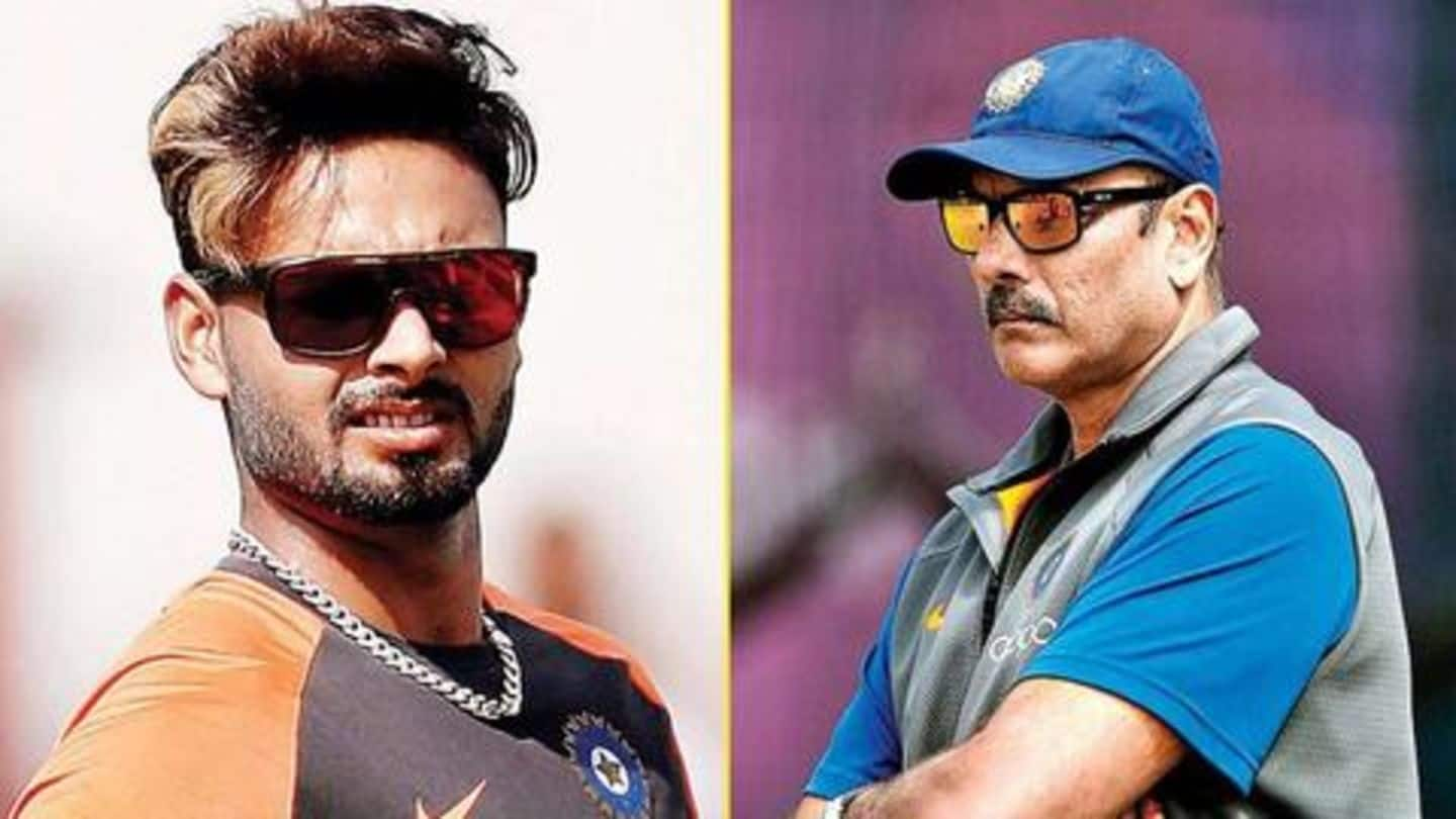 Ravi Shastri issues a warning to Rishabh Pant: Details here