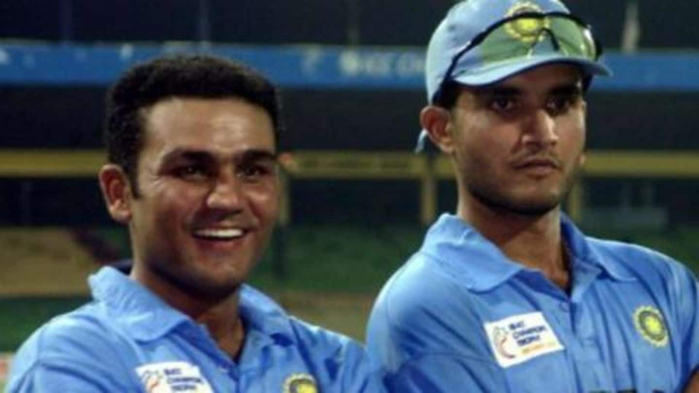 This is how Ganguly convinced Sehwag to open for India