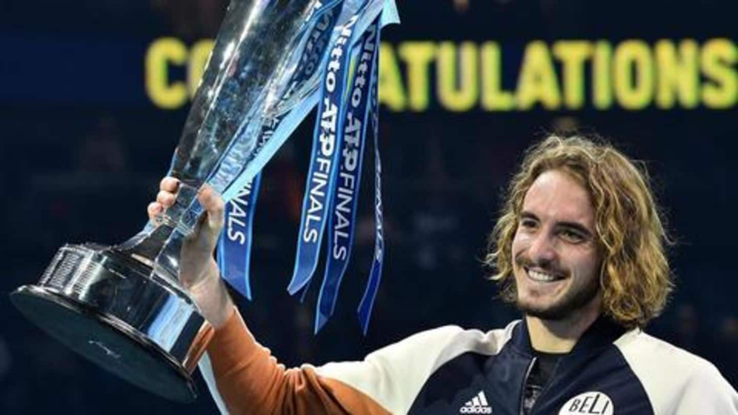 Stefanos Tsitsipas wins ATP Finals 2019: Report, stats and records