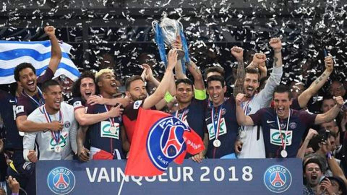 A look at all-time records scripted by Paris Saint-Germain