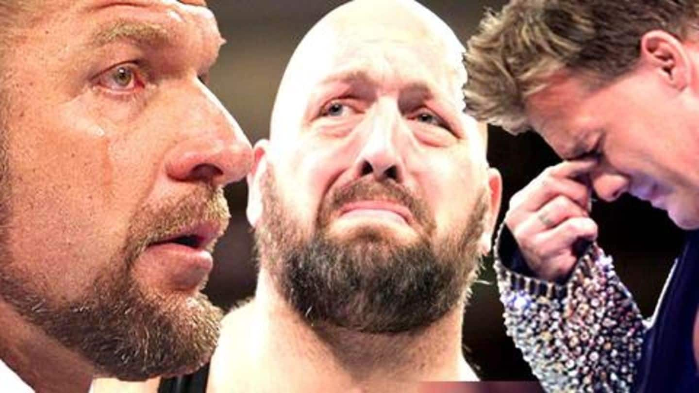 WWE: Remember these instances when superstars broke character on-air?