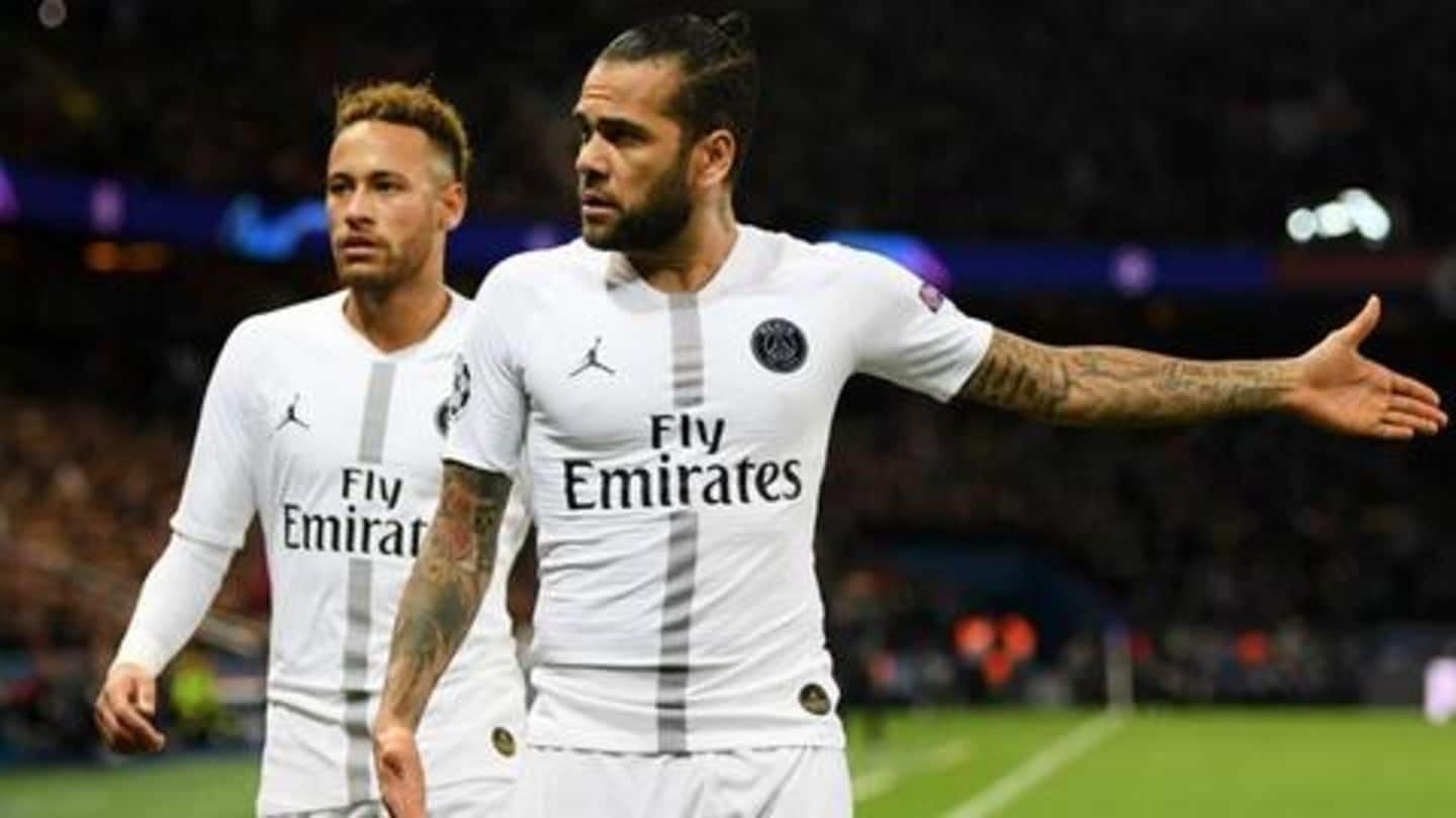 Dani Alves wants Neymar to go back to Barcelona