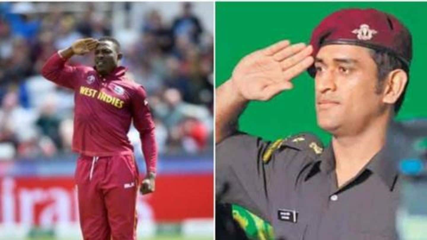 Cottrell shares a video of Dhoni, terms him inspirational