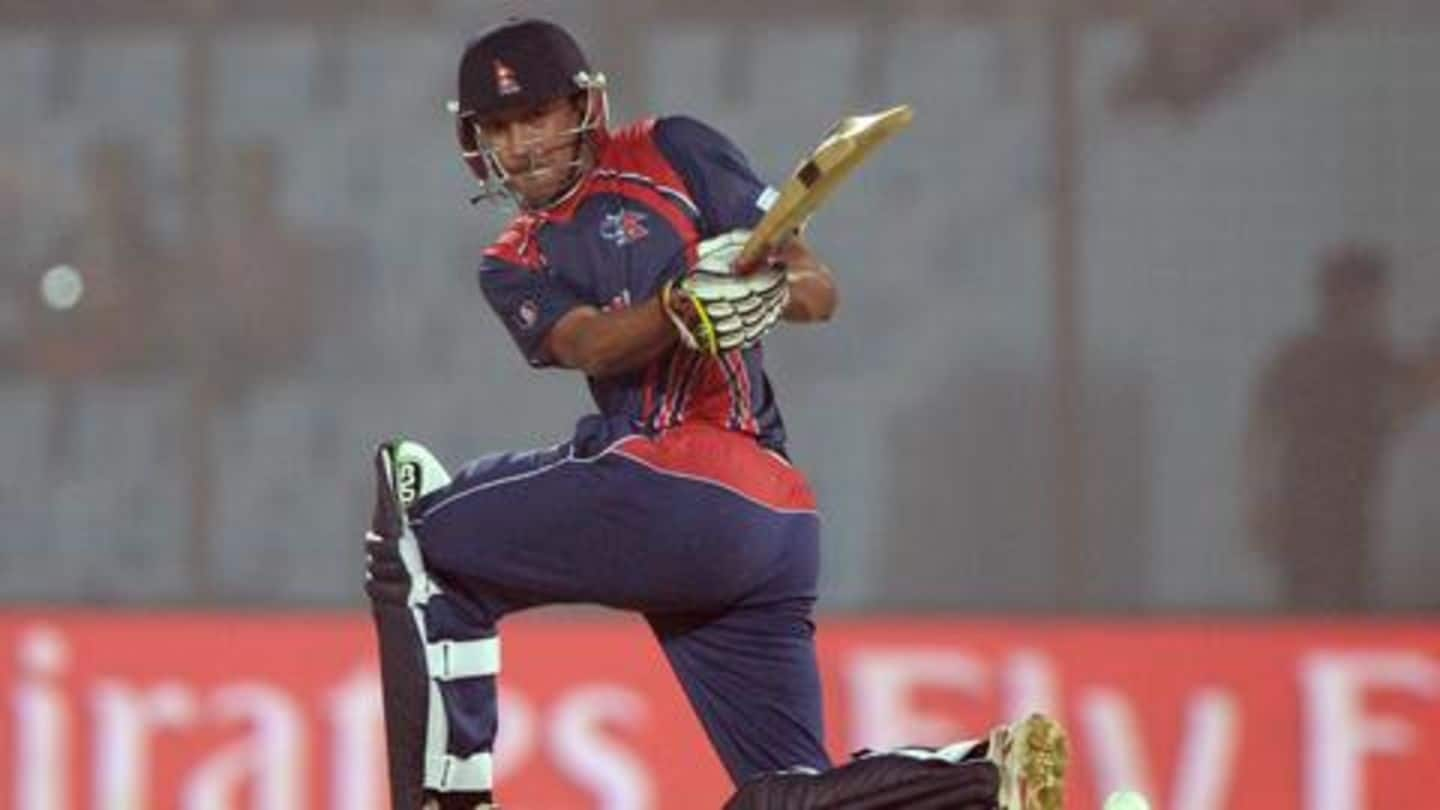 What special request does Paras Khadka have for BCCI?
