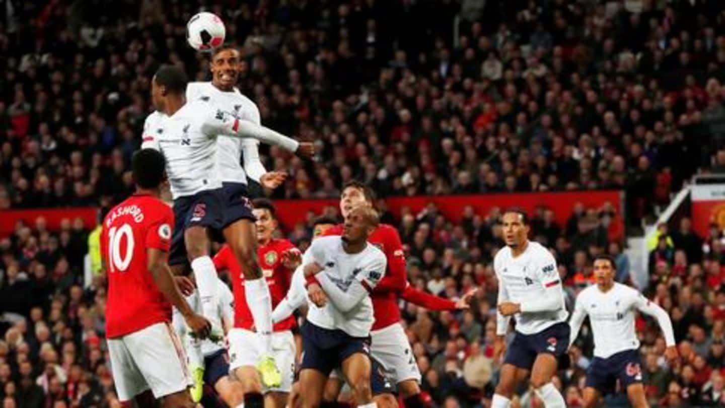 Premier League: Manchester United hold Liverpool 1-1 at home