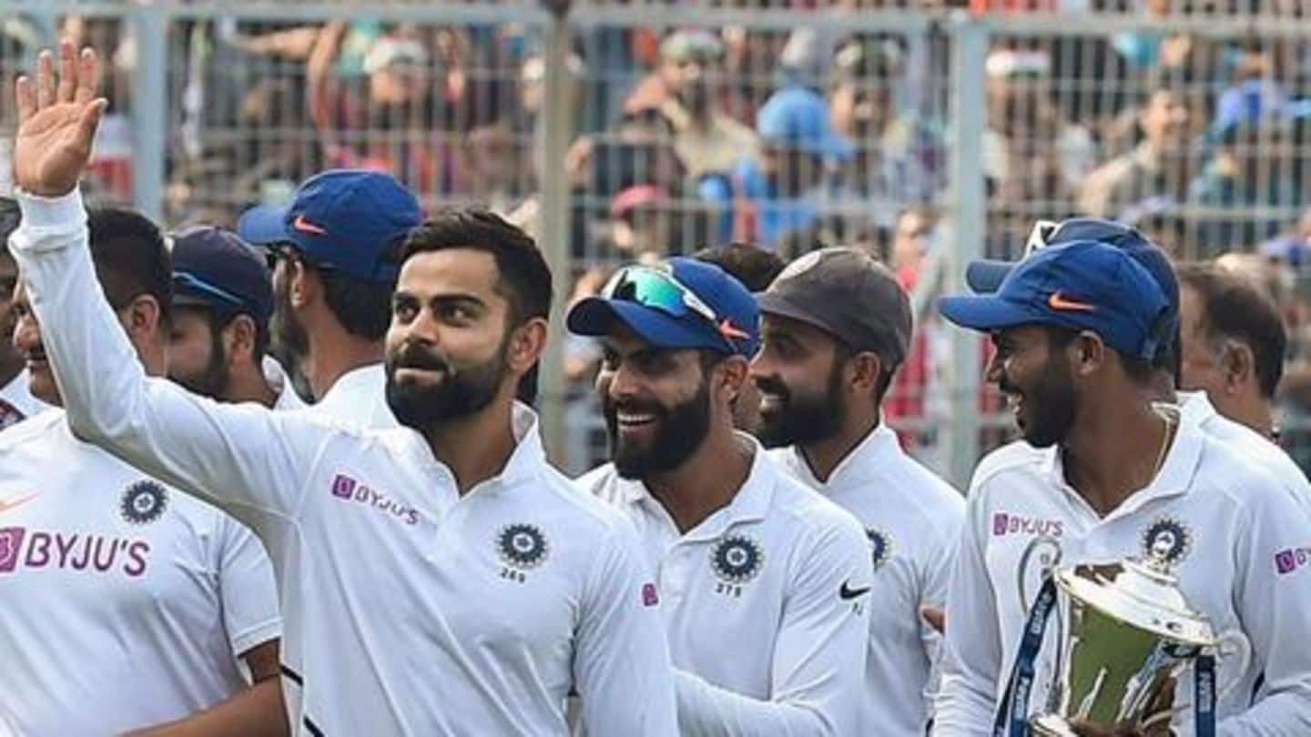 Statistical review of India in Tests in 2019