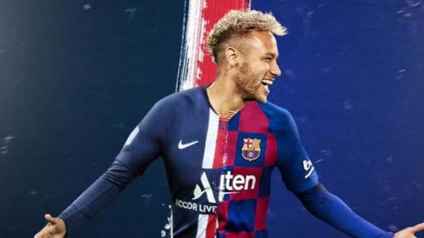 Here's what Barcelona's sporting director feels about Neymar's potential transfer