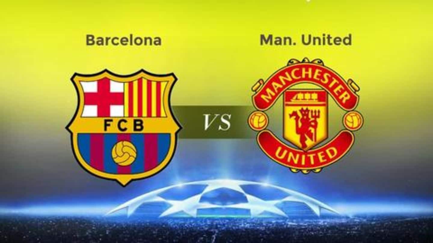 Barcelona vs Manchester United: Match preview, head-to-head and predicted XI