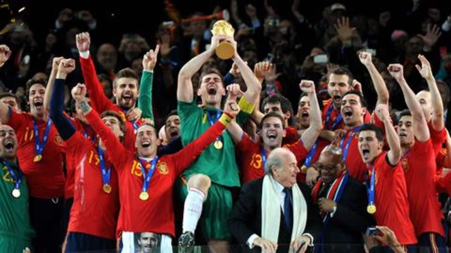 A look at all-time records scripted by Spanish football team