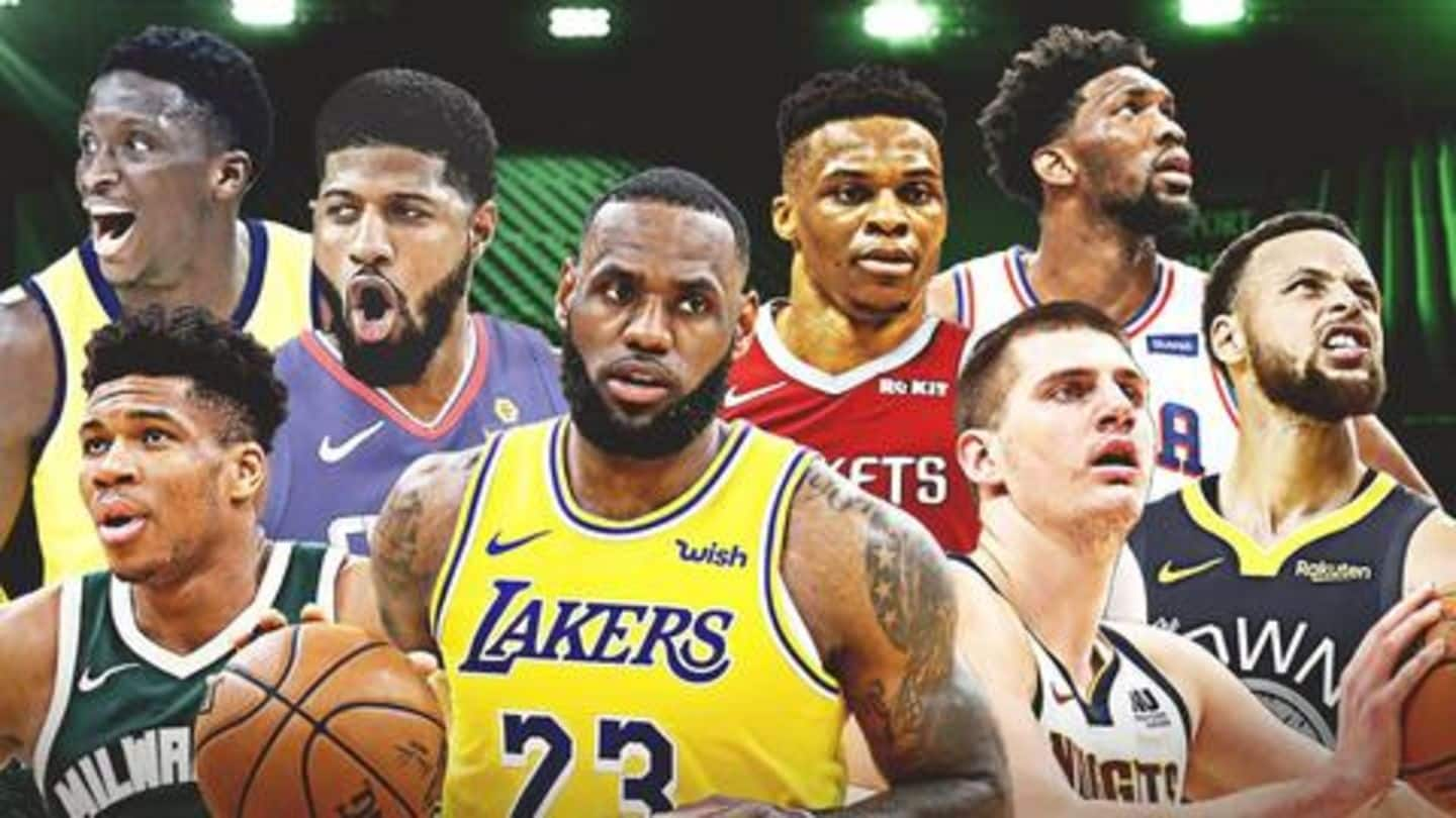 NBA: Ranking the top five players for the upcoming season