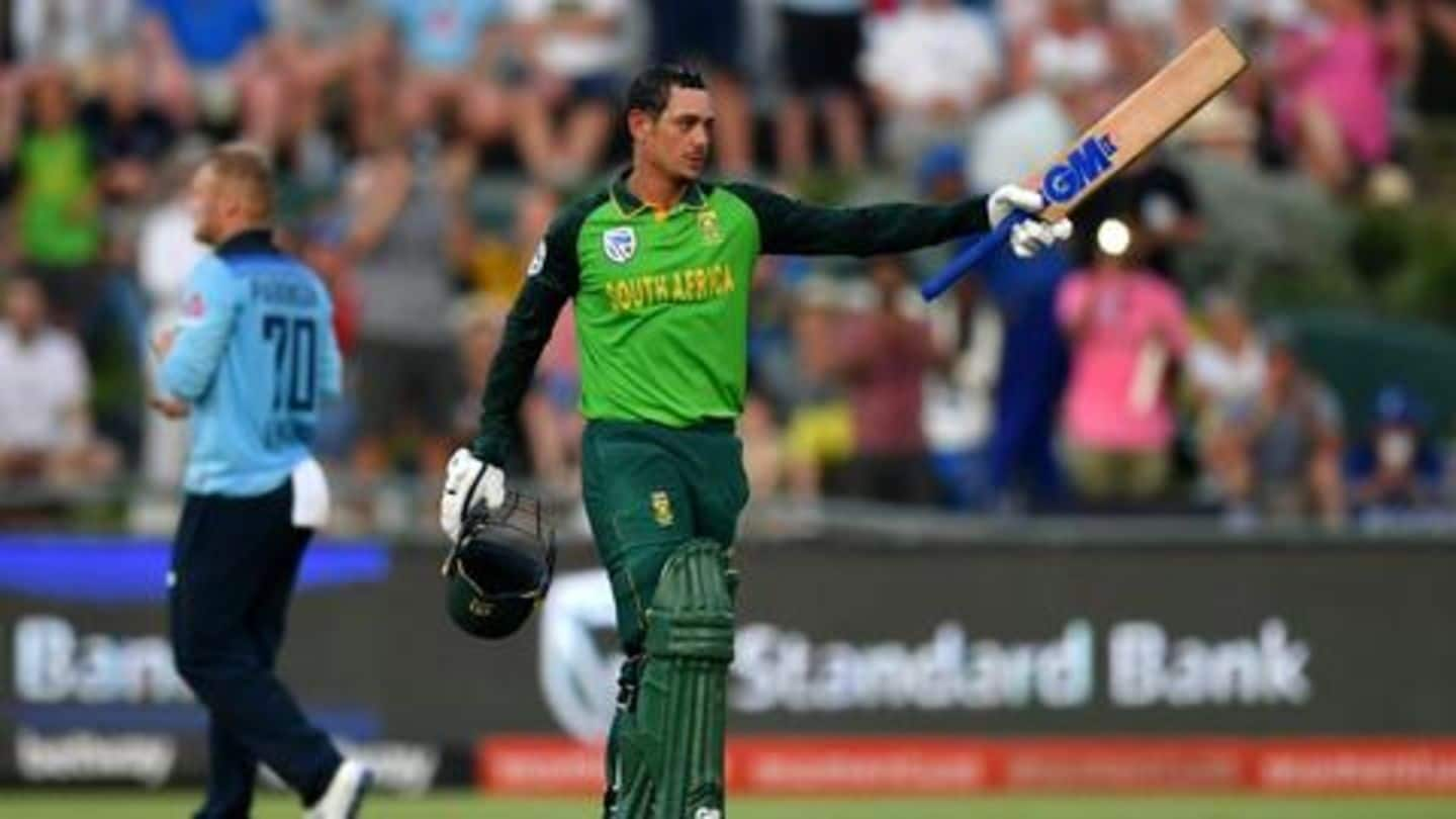 South Africa look to seal ODI series against England