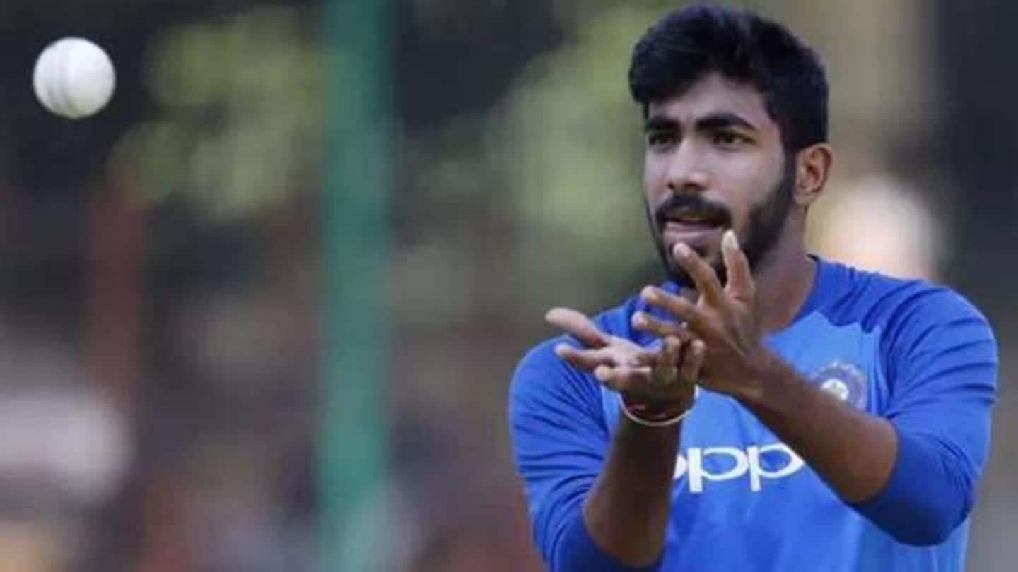 Bumrah to test his back against Kohli, Rohit in Vizag