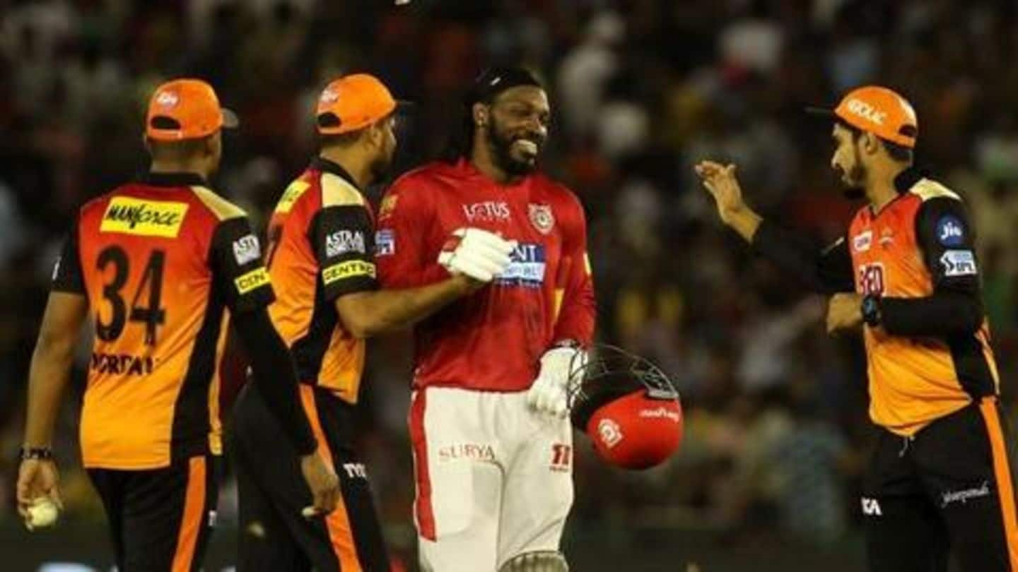 KXIP vs SRH: Match preview, head-to-head records and pitch report