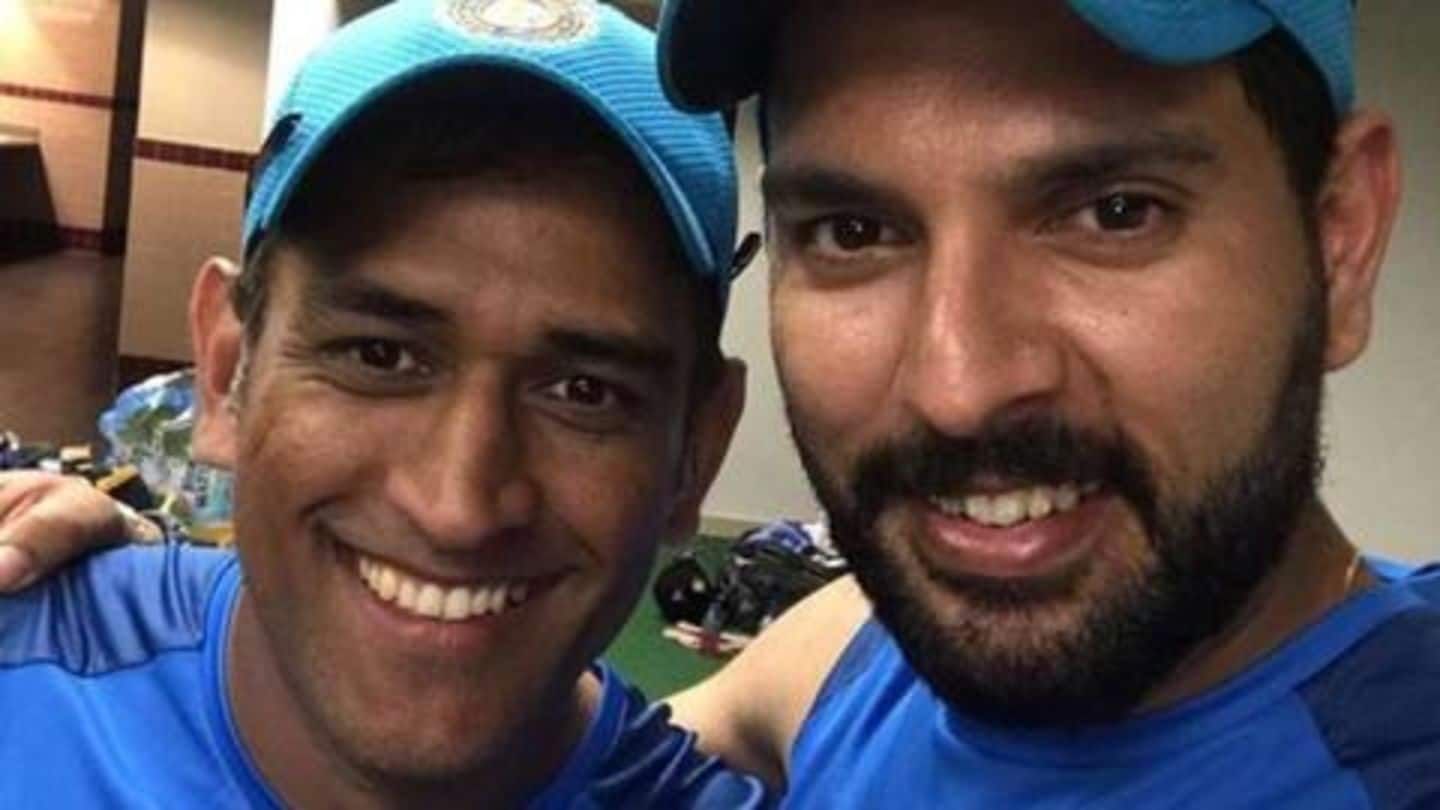 Here's Yuvraj Singh's answer on MS Dhoni's future