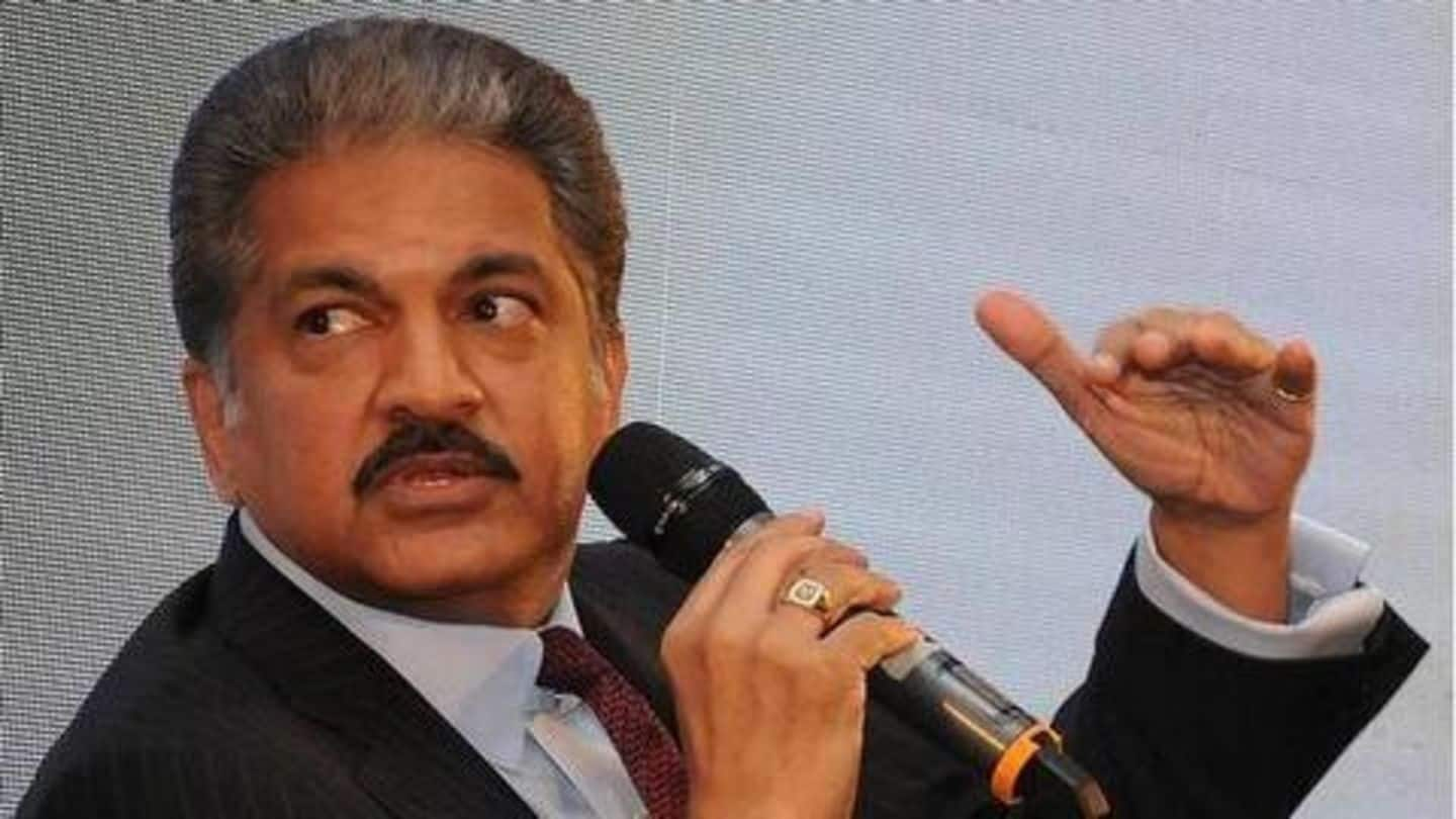 Anand Mahindra's latest tweet shows 'jugaad' is quintessential Indian trait