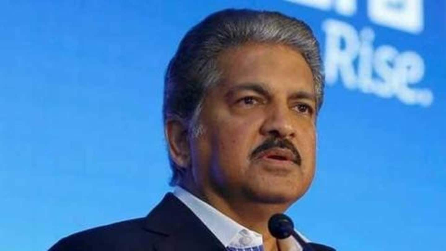 Man asks 'money plant kaisa rahega,' Anand Mahindra replies cheekily