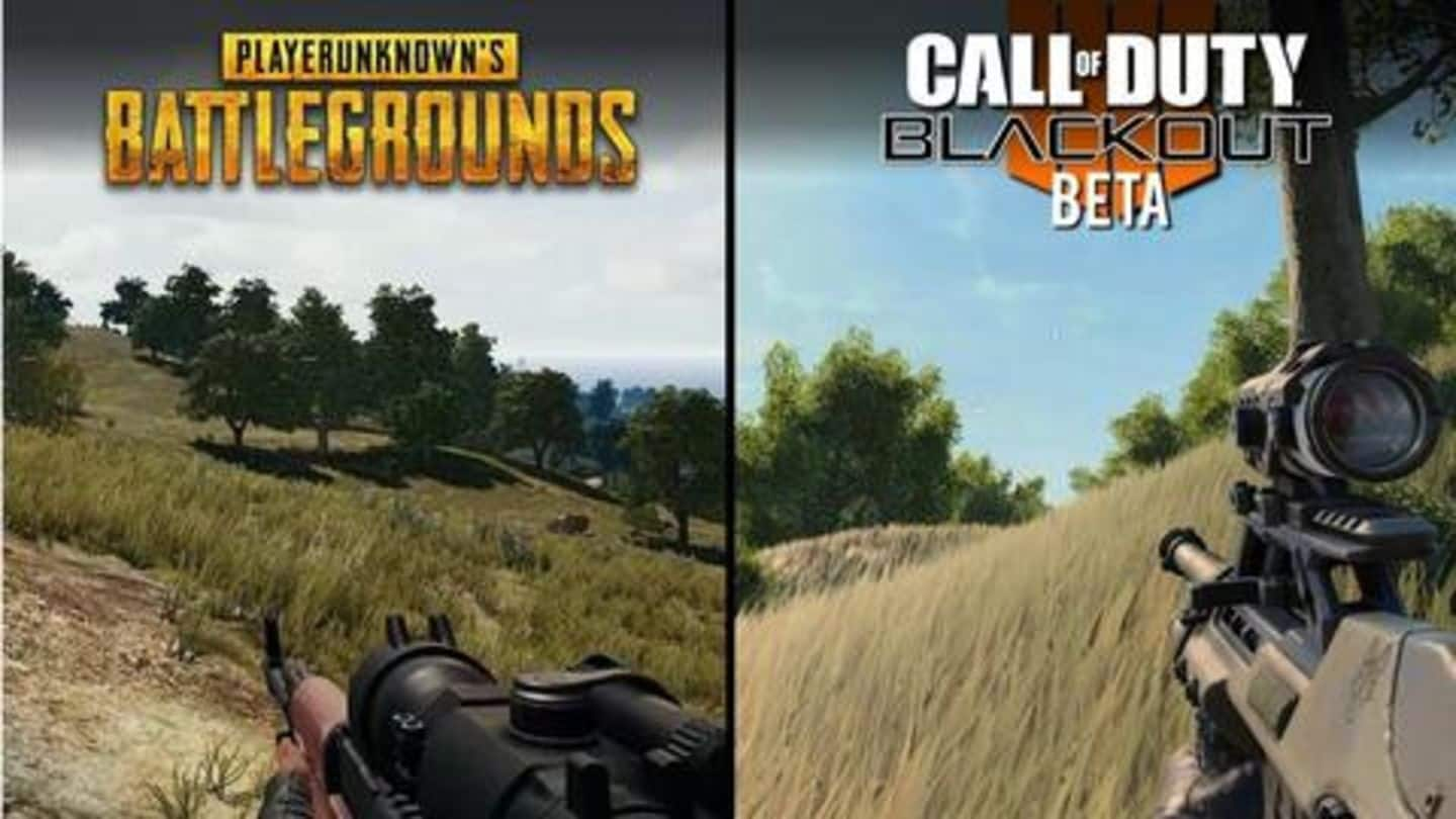 #GamingBytes: Why Battle Royale players should choose PUBG over CoD?