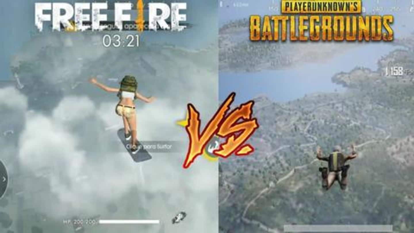 Gamingbytes Free Fire Or Pubg Mobile Which One Is Better