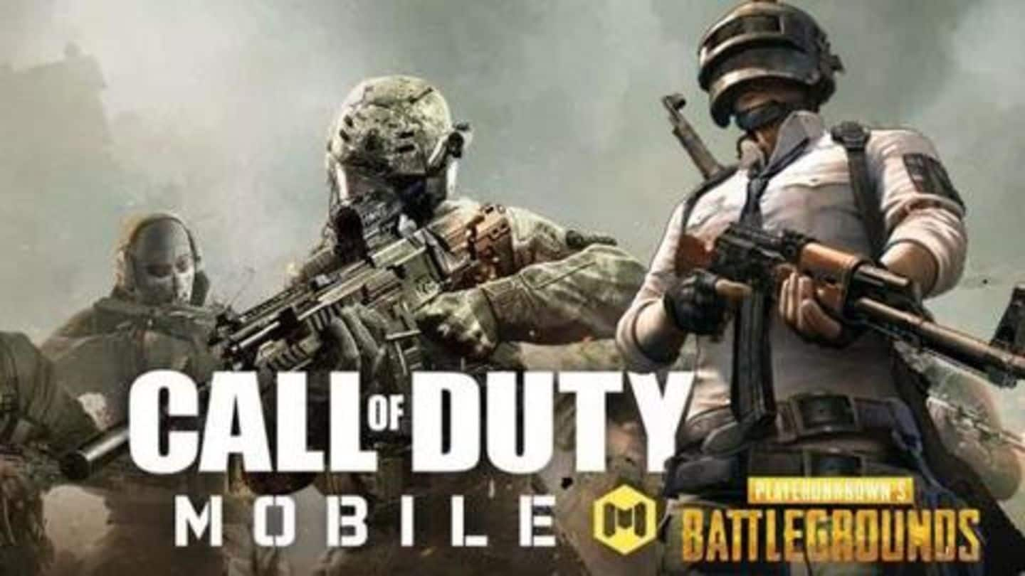 GamingBytes: Five basic differences between CoD Mobile and PUBG Mobile