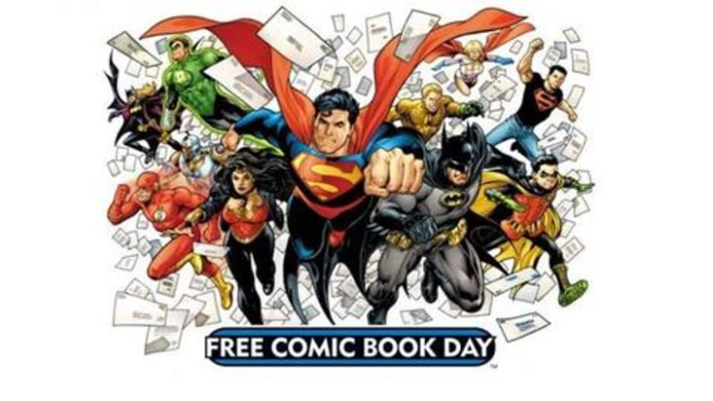 #ComicBytes: Celebrating Free Comic Book Day! Here's what it implies