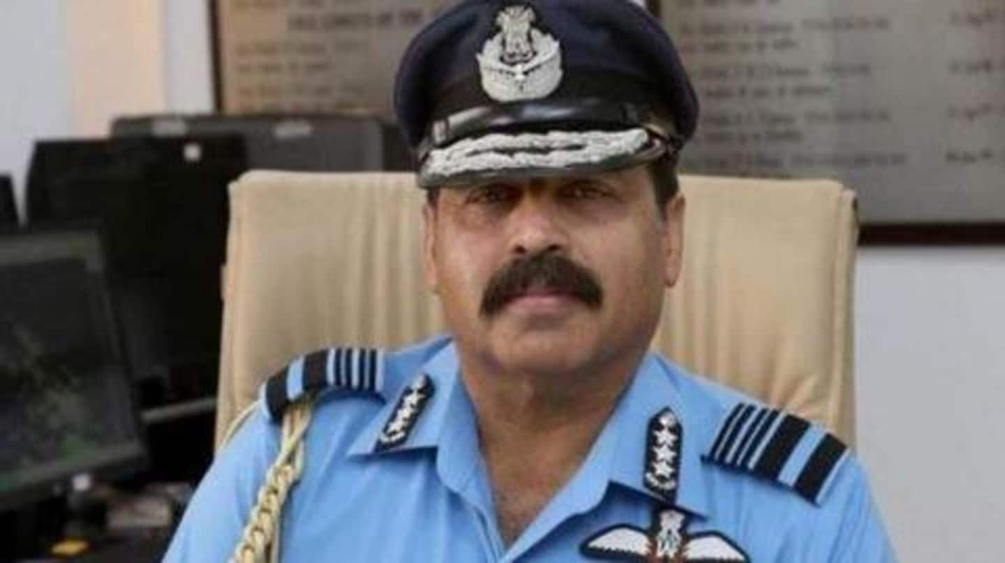 Air Marshal RKS Bhadauria to take over as IAF Chief