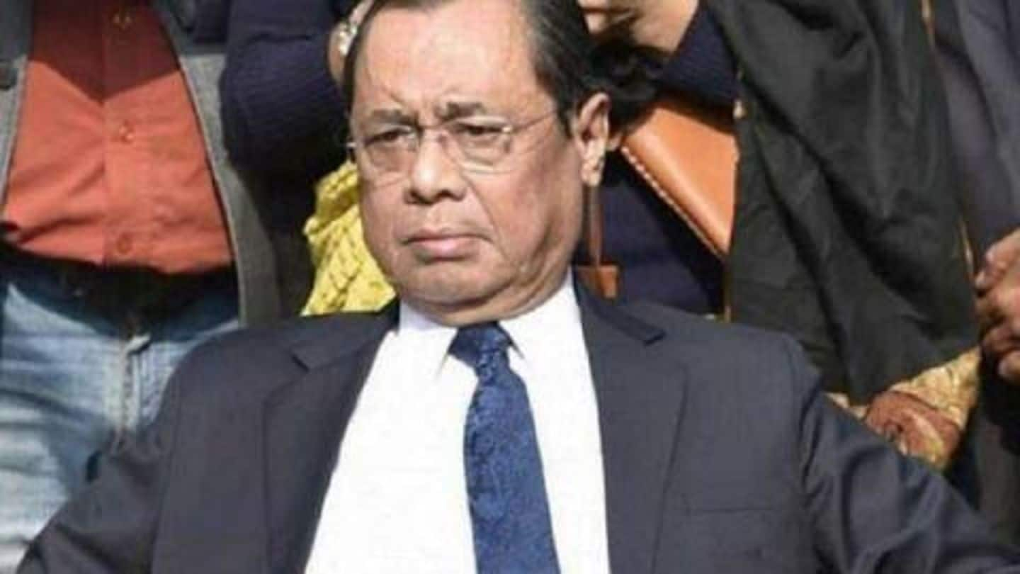 SC panel gives clean chit to CJI in sexual-harassment case