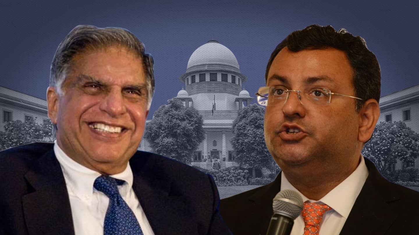 Win for Tata Sons; Supreme Court upholds Cyrus Mistry's sacking