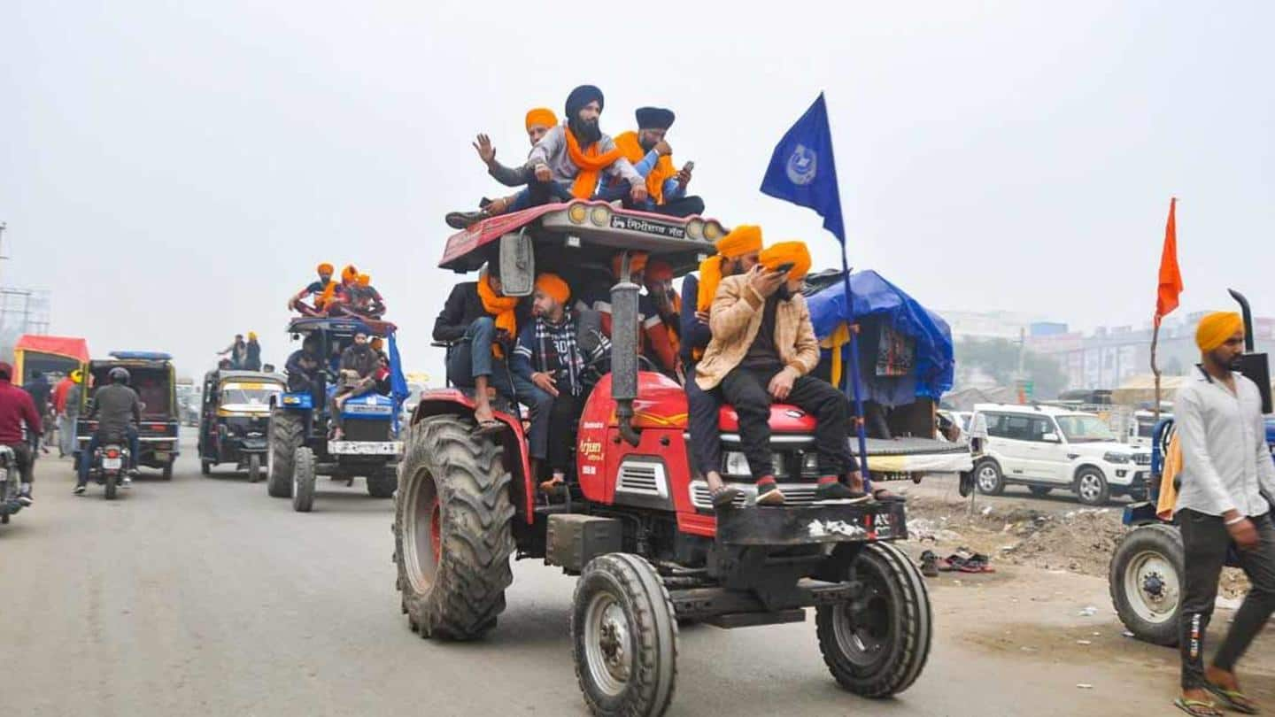 Delhi Police clears tractor rally, say farmers; police contradicts claim