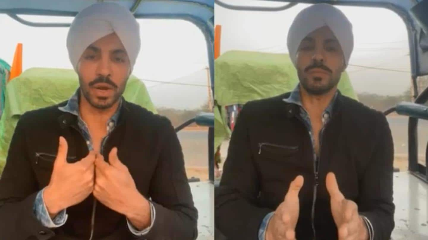 Blamed for inciting Republic Day chaos, Deep Sidhu goes 'missing'