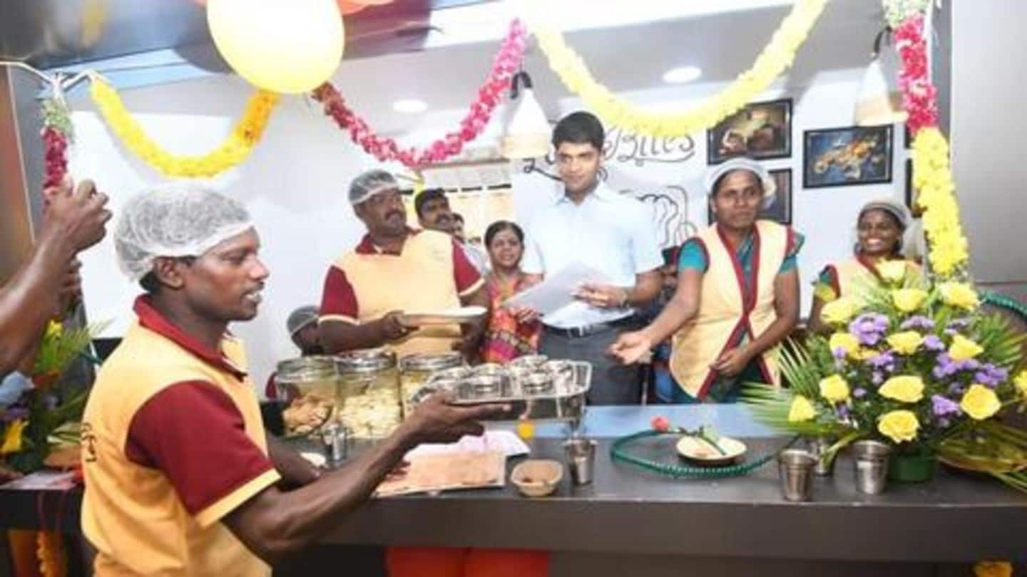 This IAS officer set up cafe run by disabled persons
