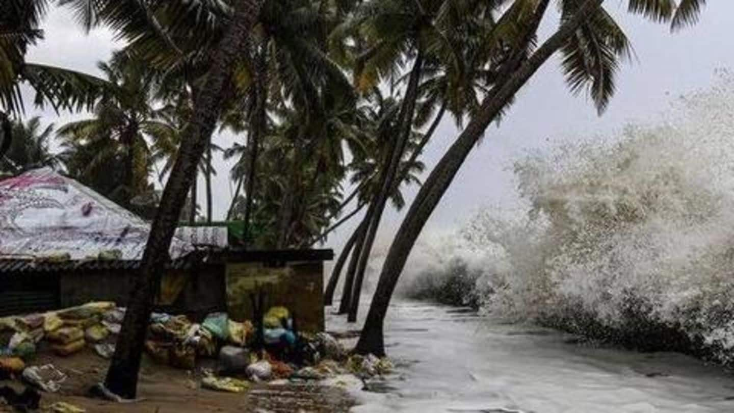 Cyclone Maha to bring heavy rainfall in Gujarat next week