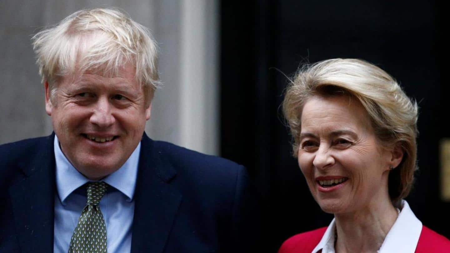 UK-EU agree on Brexit deal week before transition period ends