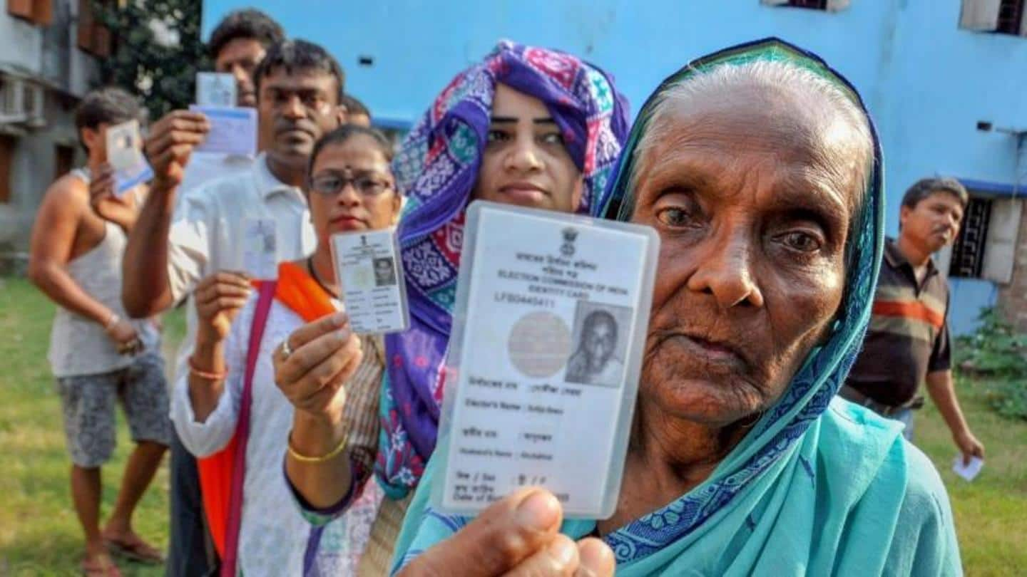 Government allows people above 65 to vote via postal ballots