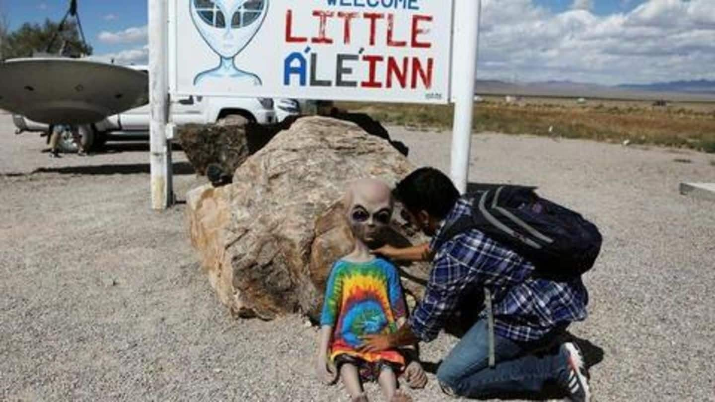 Area 51 raid to be live-streamed. Will visitors spot aliens?