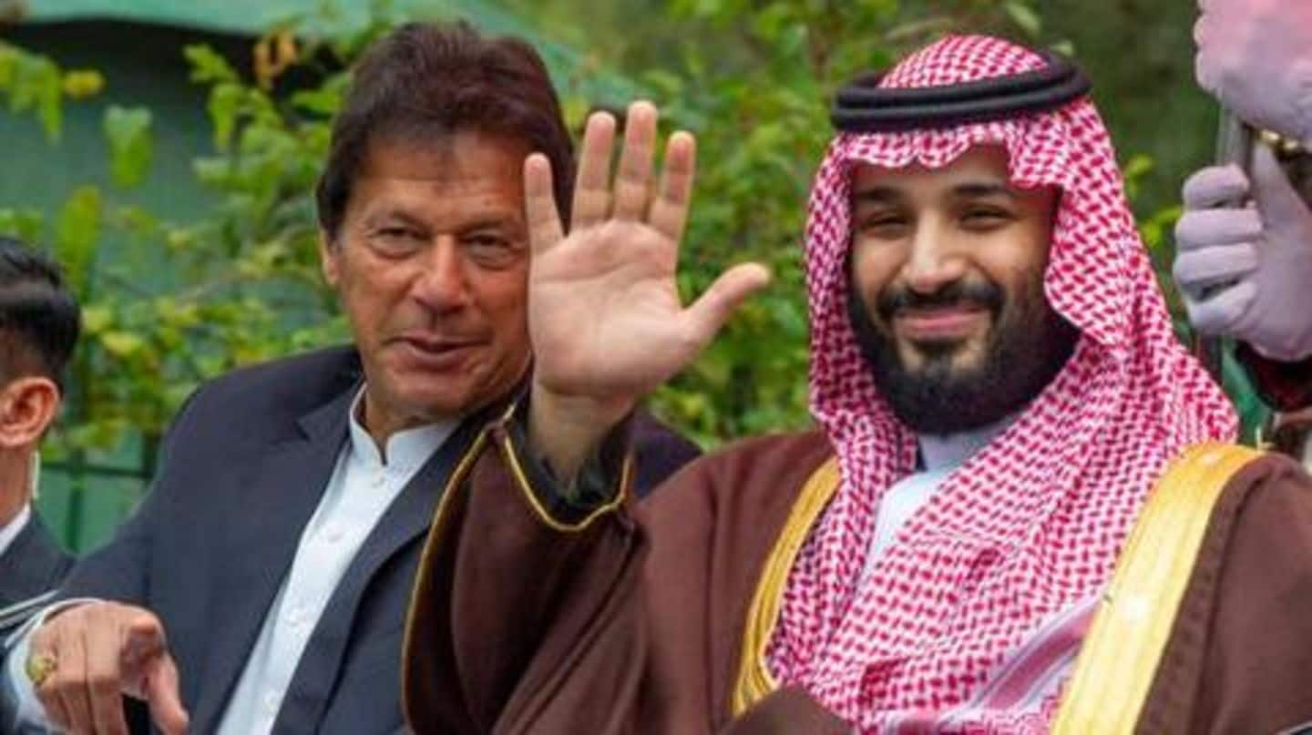 Pakistan PM reaches US in Saudi Crown Prince's 'special jet'