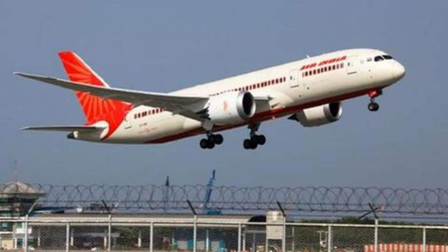 Air India starts booking for domestic flights from May 25