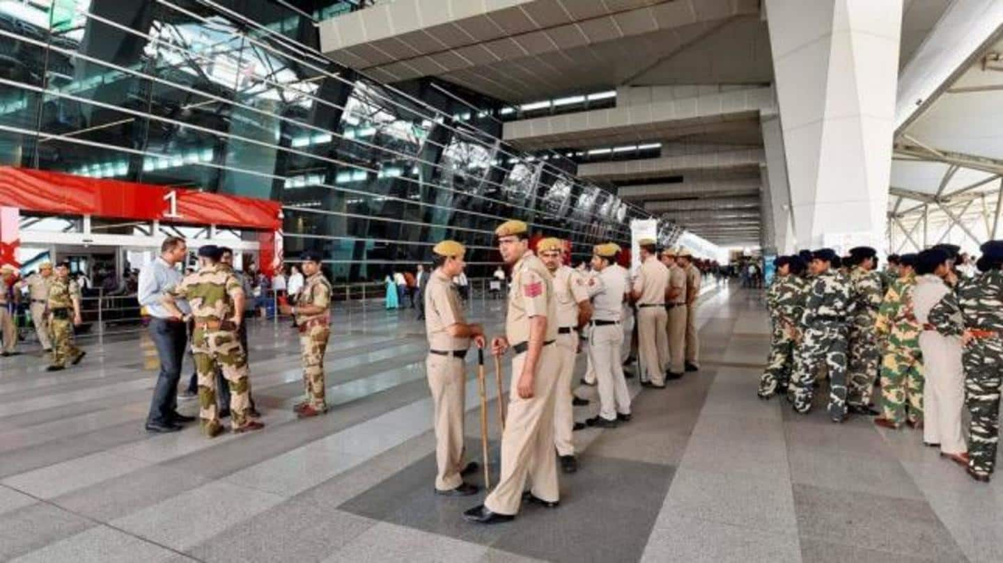 Delhi airport heightens security after threats to 2 London-bound flights