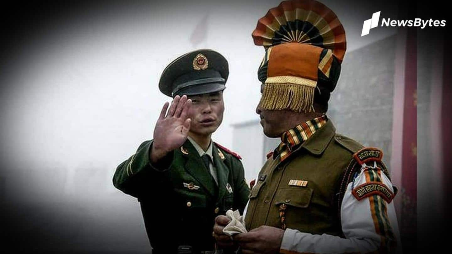 Chinese soldier, held in Ladakh after crossing LAC, handed back
