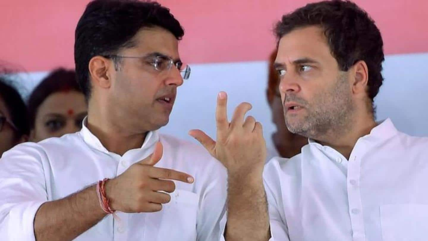 Sachin Pilot meets Gandhis; Congress panel to address his grievances