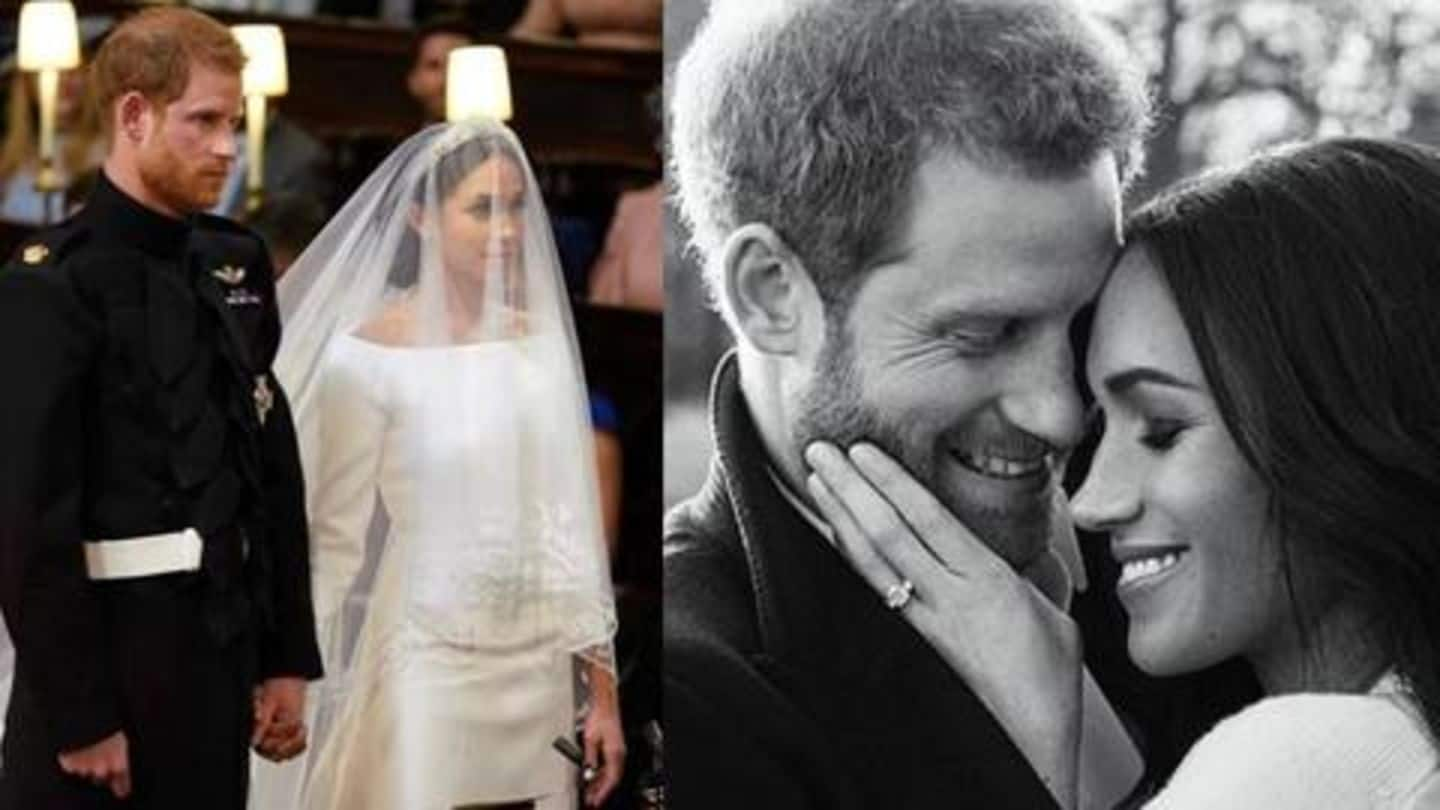 Private photos from Prince Harry, Meghan Markle's wedding leaked