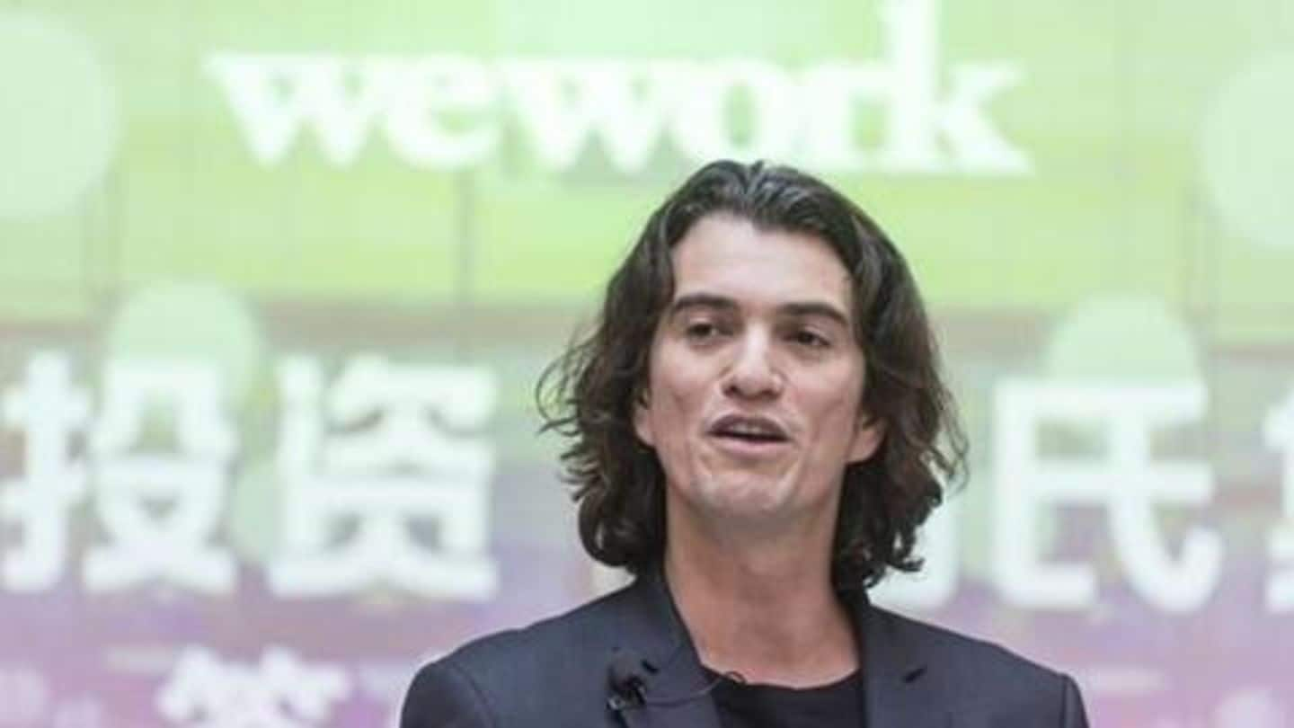 """WeWork CEO wants to live forever, be the """"World's President"""""""
